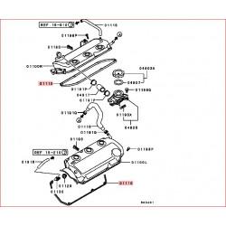 1 Joint de cache culbuteur V6 3,0L et V6 3,5L d'origine