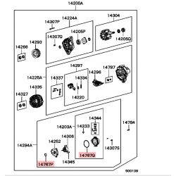 Grand Joint Torique de Pompe à vide Pajero 1 2,5L TD et TDI