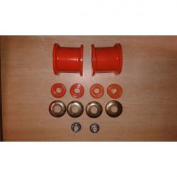 Kit Silentbloc Polyuréthane de Barre Stabilisatrice Avant Pajero 2 Diamètre 27 ou 28