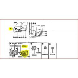 Bouton Interrupteur Lève Vitre Avant Conducteur Pajero 1 Court L044
