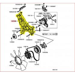 Platine de Pompe à Eau V6 3,5L DOHC Origine