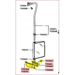 Fixation de Barre de Rétroviseur Extérieur Style Truck Droit ou Gauche pour Pajero 1