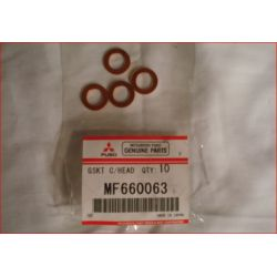 Joint Cuivre d'origine de Durite Entrée de Pompe à Vide D10 Pajero 1 et L200 1 MF660063