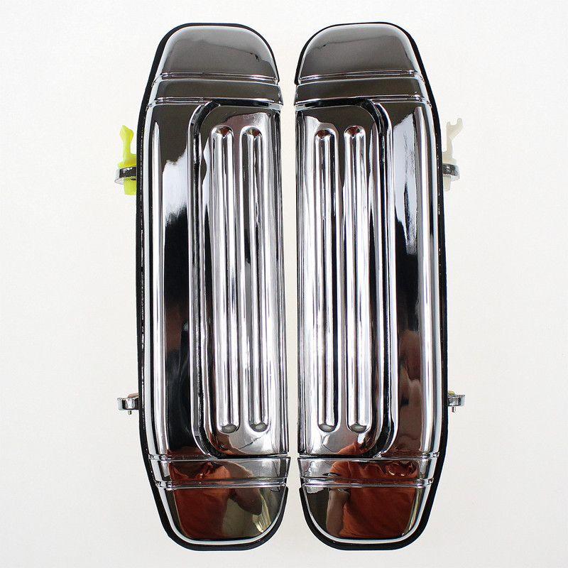 poign e de porte ext rieur avant chrom droite ou gauche pajero 2. Black Bedroom Furniture Sets. Home Design Ideas