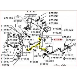 Tuyau de Climatisation sur le Châssis Droit Pajero 2 Long MB918399