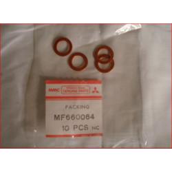 Joint Cuivre d'origine de Durite Entrée de Pompe à Vide D10 Pajero 1 et L200 1