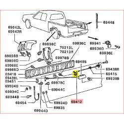 Mécanisme de Poignée de Hayon Arrière L200 1