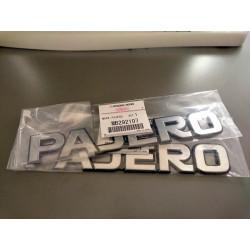 Logo PAJERO Autocollant sur l'Aile Avant Pajero 1