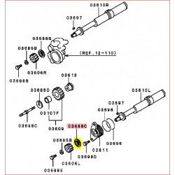 Entretoise de l'Axe d'Équilibrage Gauche Pajero 3 et 4, Moteur 3,2L DID