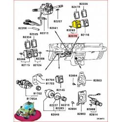 Bouton Interrupteur Warning Pajero L043 et L048