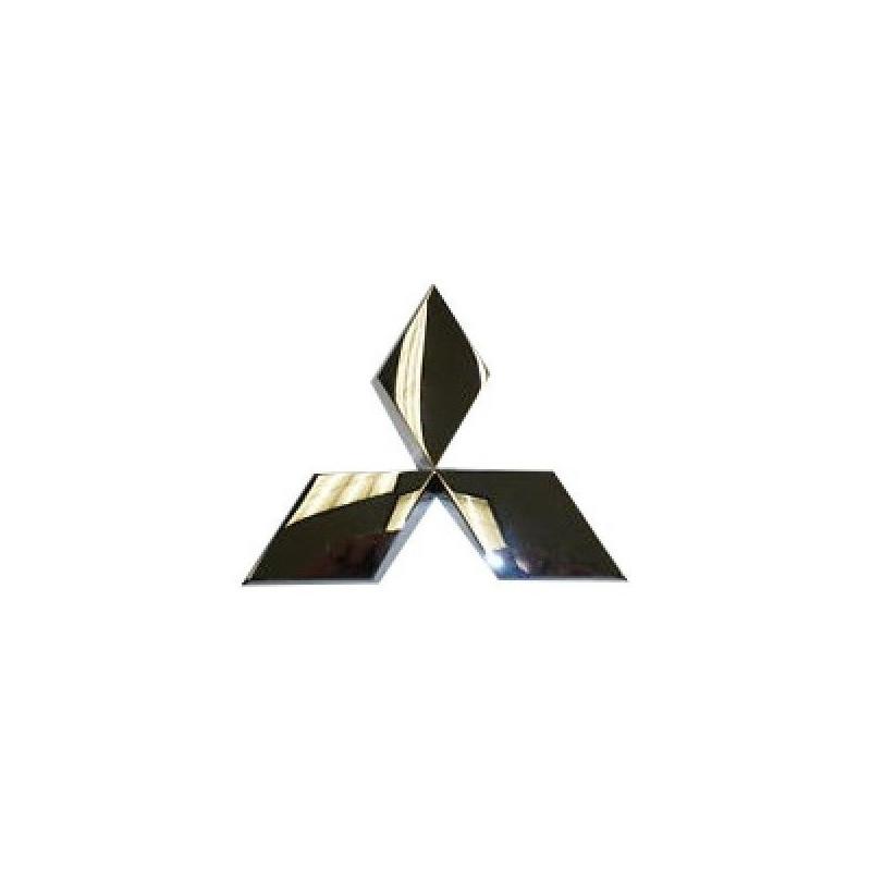Logo MITSUBISHI Chromé Autocollant sur Calandre L200 KB4T