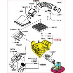 Dessous de Boite à Air d'Origine Pajero 2 V6 3,0L et 3,5L