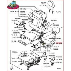 Bouton Interrupteur de Réglage du Siège Électrique Nativa 2,5L TDI