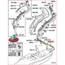 Durite Souple de Réservoir Pajero 3 Diesel