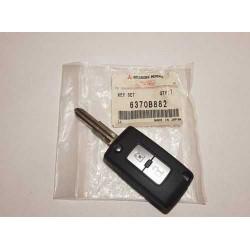 Clef de Contact Tailler Avec Transpondeur et Télécommande Pajero 4