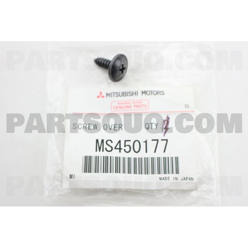 Vis à Tôle 5x16 Noir pour la Fixation de l'Avant de la Console L200 et Pajero 1