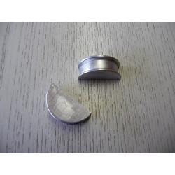 Demi-lune en aluminium du joint de cache culbuteur 2,5L TDI Origine
