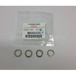 4 Joint de rampe de retour d'injecteurs de Pajero 1, 2, 3, L200 1 et 2, Sport 2,5L TDI