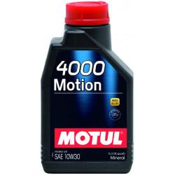 Huile Moteur Motul 4000 Motion 10W30 bidon 1L