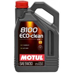 Huile Moteur Motul 8100 Eco-clean 5W40 Bidon 5L